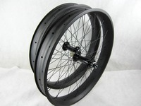 free shipping 2016 FSS80C carbon fat wheelset 26er fat bike wheels,tubeless 26er fat bike wheels fork bike