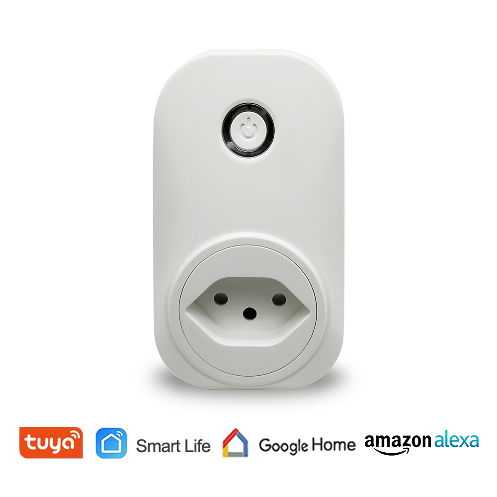 Wifi Smart Swiss Socket Switzerland Plug 16A Voice Control with Google Home Alexa Echo App Timer and Remot Control the DevicesWifi Smart Swiss Socket Switzerland Plug 16A Voice Control with Google Home Alexa Echo App Timer and Remot Control the Devices