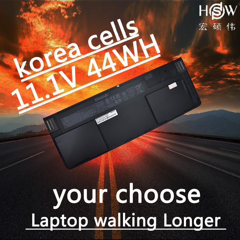 HSW pour Batterie Hp Elitebook Revolve 810 G1 Tablette Hstnn-ib4f Hstnn-w91c 698750-171 698943-001 698750-1c1 Od06xl 44wh bateria