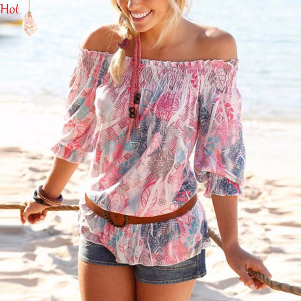Compare Prices on Off The Shoulder Tops for Girls- Online Shopping ...