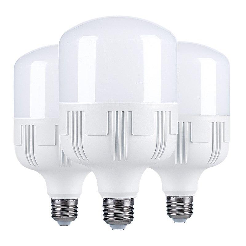 LED Highlight E27 220V AC Energy-saving Light Bulb Warm 20W 30W 40W 50W Super Bright Home/business Bulb/industry SMD 3528