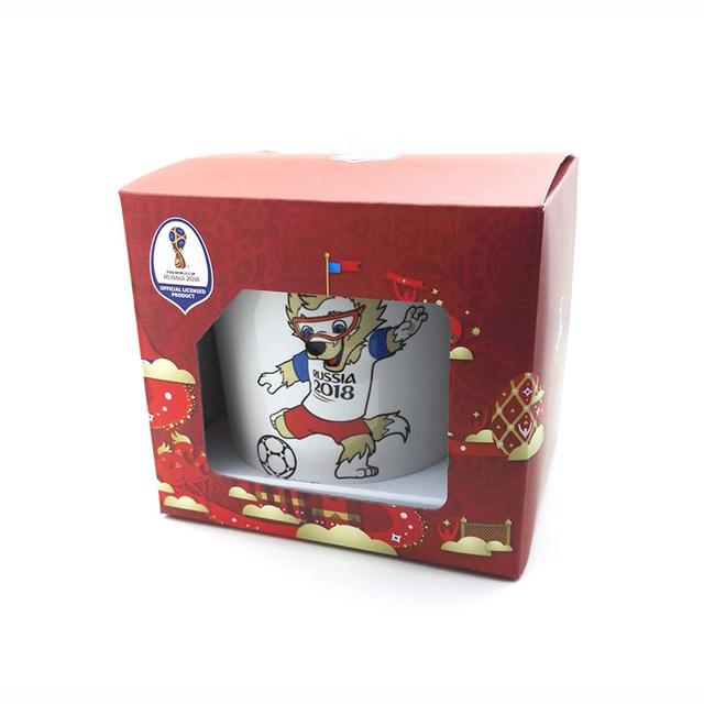 FIFA 2018 Football Russia Zabivaka Mascot Mug