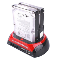 HDD Docking Station HDD Docking All In 1 HDD Docking Station Dual 2 5 3 5