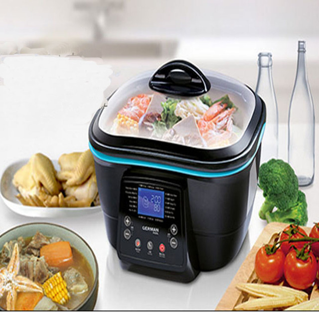 Hot Pot Kitchen Appliances Korean Multi Function Electric Cooker Kettle  Frying Pan Multi Purpose