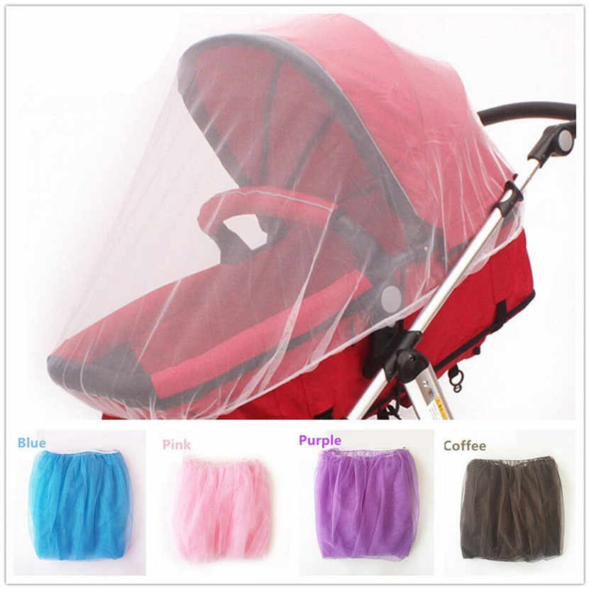 Baby Stroller Mosquito Net Full Insect Cover Carriage Kid Foldable Kids Netting Outdoor Travel Camping