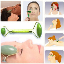 Facial Massage Double-headed Jade Roller Body Head Neck Face Relaxation Anti-aging Skin Lift Massaging Tools L3