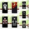Escuro para o estilo dos homens caso de telefone colorido para huawei p9 mini/hauwei p9 tampa do caso para huawei p9 lite lite + dom gratuito pen