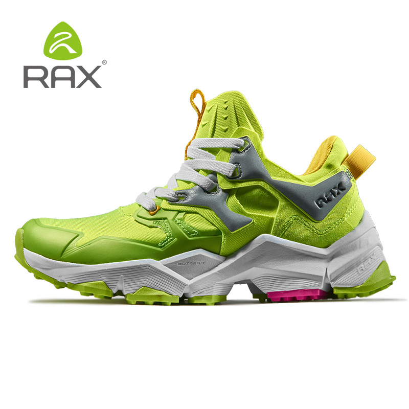 RAX Women's Breathable Future Style Lightweight Hiking Shoes Men Antiskid Cushioning Outdoor Climbing Trekking Shoes Men 423W
