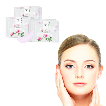 8Pcs Rose Essence Anti wrinkle Eye Mask Ice Cool Moisturizing Soothing Tired Pad Health Care Gel Portable Personal Health Care S Creams