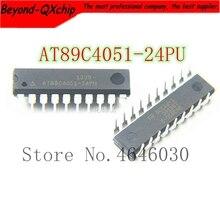 Envío Gratis 100 Uds AT89C4051 AT89C4051 24PU AT89C4051 24PI DIP 20 de la mejor calidad