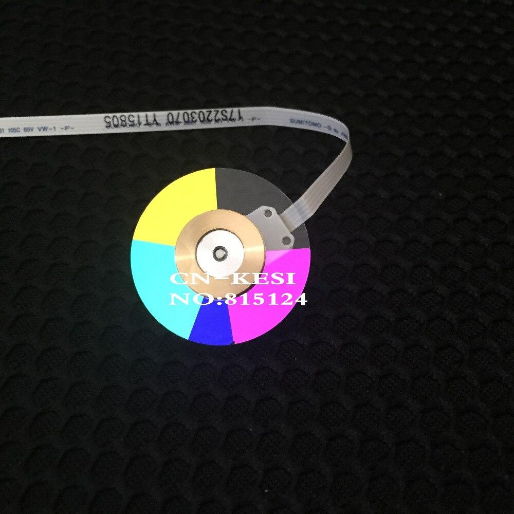 CN-KESI 100% NEW original Projector color wheel for Optoma EW766 EW766W wheel color 1pcs 100% new original projector color wheel for optoma ep739 projector color wheel
