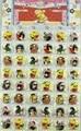 48 unids Naruto figuras de acción Pins Insignia fijó 2016 Nueva Japaness Hello Kitty Naruto Batman insignias pines broche de kanto