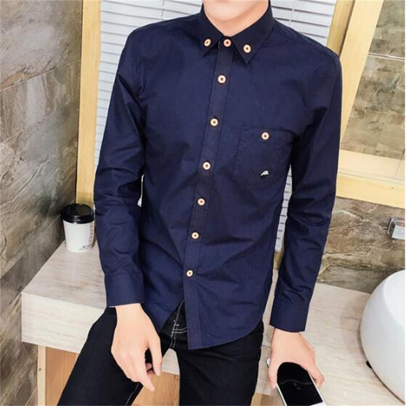 Olid Mens Kleid Shirts Formale Shirts Designs Camisa Sozialen Masculina Männer Business Hemd 5XL