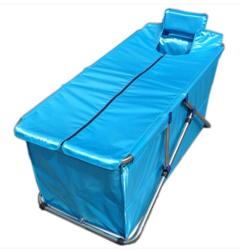 Size130*56*52cm,Simple Folding Bathtub,Inflatable Tub,Handmade Bath ...