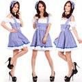 Señoras Dorothy Mago de OZ de Halloween Fancy Dress Up Costume Outfit