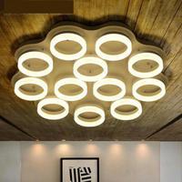 Офис светодиодные полосы Профессиональный освещения Luminaria большой круглый потолочный класса фары комната фойе современный led освещение