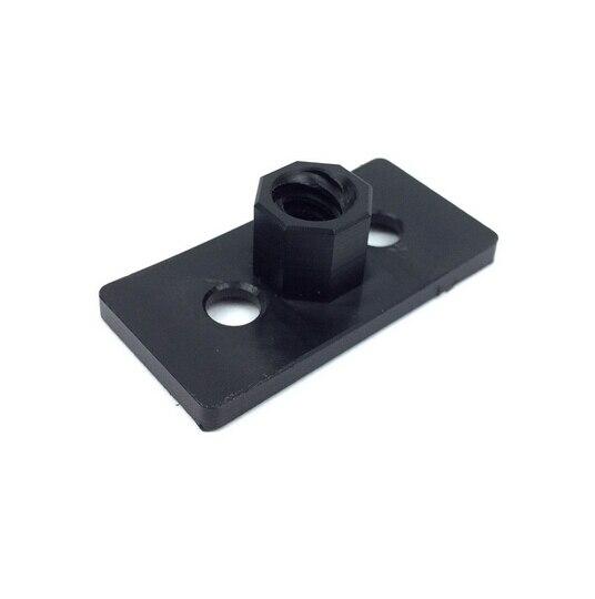 US $18 04 5% OFF|3dd printer partrs open source OX CNC router parts ACME  Nut Plate V Slot Aluminium Linear Extrusion 3D Printer RepRap CNC-in 3D