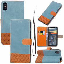 Cowboy style leather wallet flip phone covers for Apple iPhone 7 plus cases iphone X XR XS max 8 6 6s case