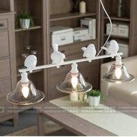 Nordic chandelier Iron Modern Pendant Lamp Indoor Lighting Fixture for Edison Bulb Iron Chandelier Modern Pendant Nordic