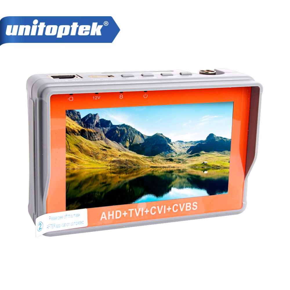 Здесь можно купить   AHD CCTV Tester 4 in 1 for AHD TVI CVI CVBS Analog Camera Security Monitor 1080P with 4.3-inch LCD screen 5V 2A,12V 1A Surveilla Строительство и Недвижимость