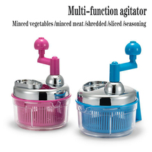 QQJJ(QQJJ)Kitchen strong manual meat grinder food chopper mixer chopped vegetable nut crusher