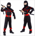 Classic Halloween Costumes Cosplay Martial Arts ninja Costumes for kids Fancy Party decorations supplies children CO34115