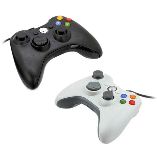 Usb wired game pad controlador joypad para microsoft usb 360 slim & pc xmas