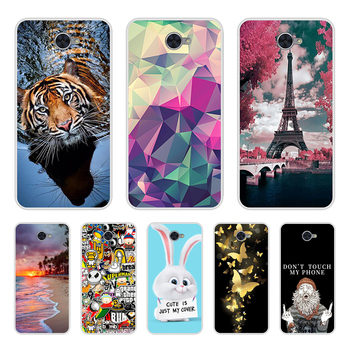 For Capas Huawei Y7 2017 Case Cover 5.5 inch Silicone Soft TPU Back Covers Coque For Huawei Y7 Y 7 Fudas Bag Cases image