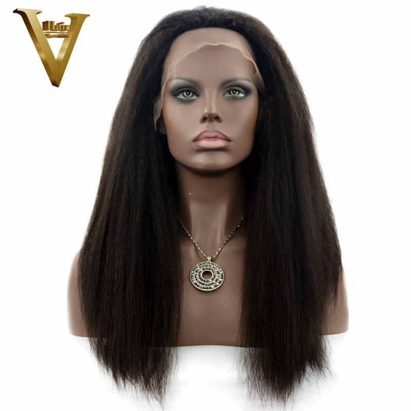 Парики из натуральных волос на шнурках для женщин, индийские кудрявые прямые волосы, парик из натуральных черных волос