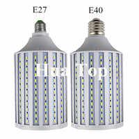 50W 60W 80W 100W lámpara LED súper brillante E27 B22 E40110V/220 V lámpara bombillas de maíz candelabro de iluminación colgante foco de techo