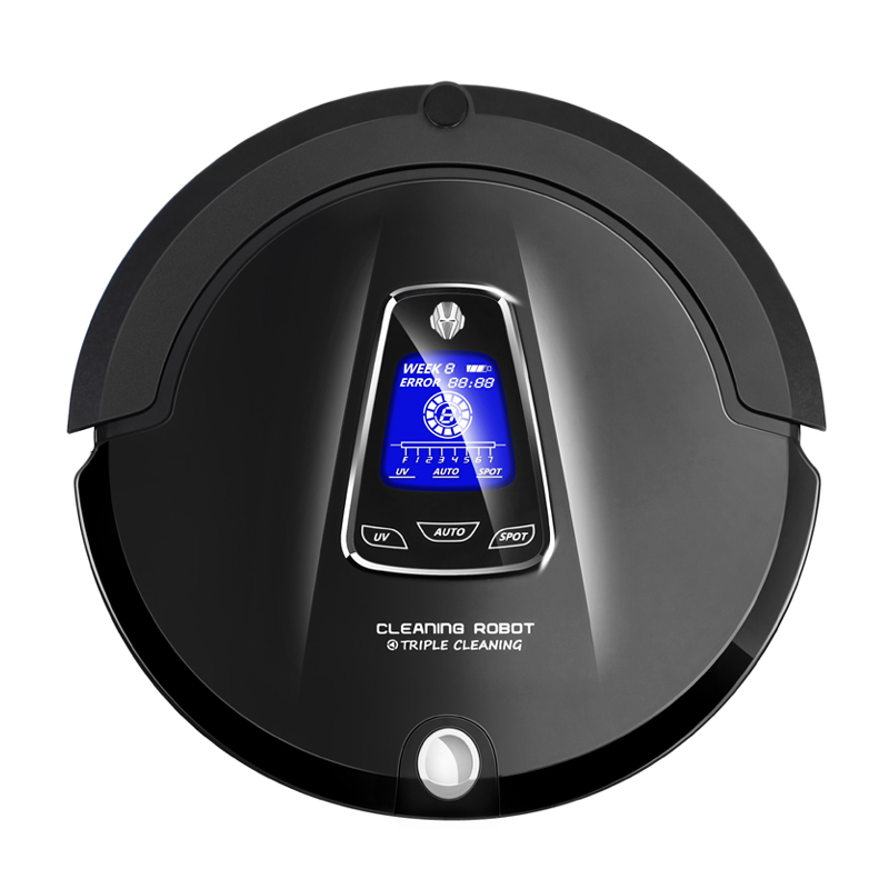 Most Advanced Multifunction Robot Vacuum Cleaner for Home A335 (Sweep,Vacuum,Mop,Sterilize),Schedule,Virtual Blocker,Self Charge liectroux robot floor cleaner multifunction sweep vacuum mop sterilize touch screen schedule side brush autorecharge virtual