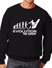 Evolution Of Tree Surgeon Funny Sweatshirt/Jumper Unisex Birthday Gift More Size and Color-E214