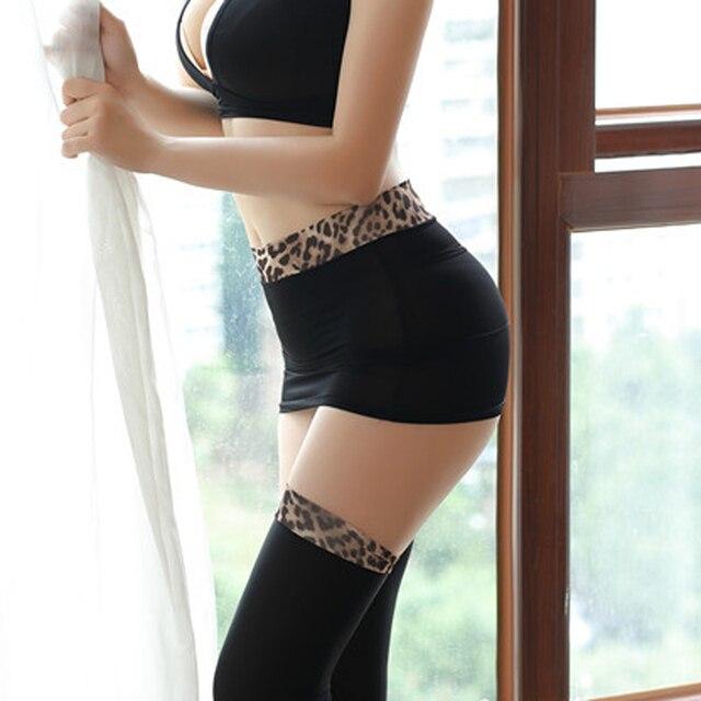 Donne Sexy di Seta del Ghiaccio Leopardo Micro Mini Gonna Stretta Gonne A Matita Gonna Trasparente Night Club Sexy Gonna Fantasia Erotica Usura f6