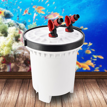 4600L/h SUNSUN HW-5000 LCD Display 5-Stage Aquarium External Canister Filter with 9W UV Sterilizer for Fish Tank Up to 1500L