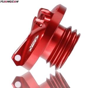 Image 4 - M20*2.5 Motorcycle CNC Engine Oil Filler Cup Cap Reservoir Cup Plug Cover For Honda CBR125R CBR 125R CBR 125R 2011 2018