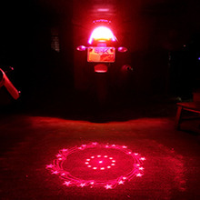 Motorcycle anti-chasing taillights  fog lights cool pattern signal led refitting