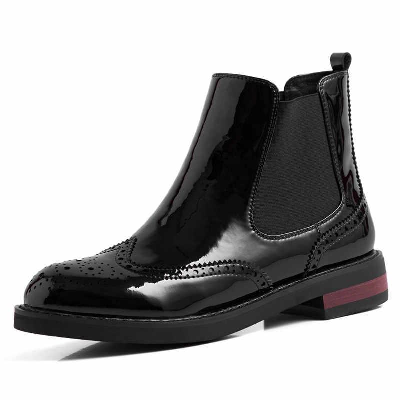 FEDONAS/Новинка; качественные женские ботильоны из коровьей замши; короткие ботинки на молнии и платформе; элегантные вечерние туфли на высоком каблуке для офиса; повседневная женская обувь