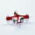 Mini toys 4-2.4 ch giroscópio 6-axis ghzquadcopter equipado com câmera rc aircraft vs hubsan levou rc helicóptero rtf presente