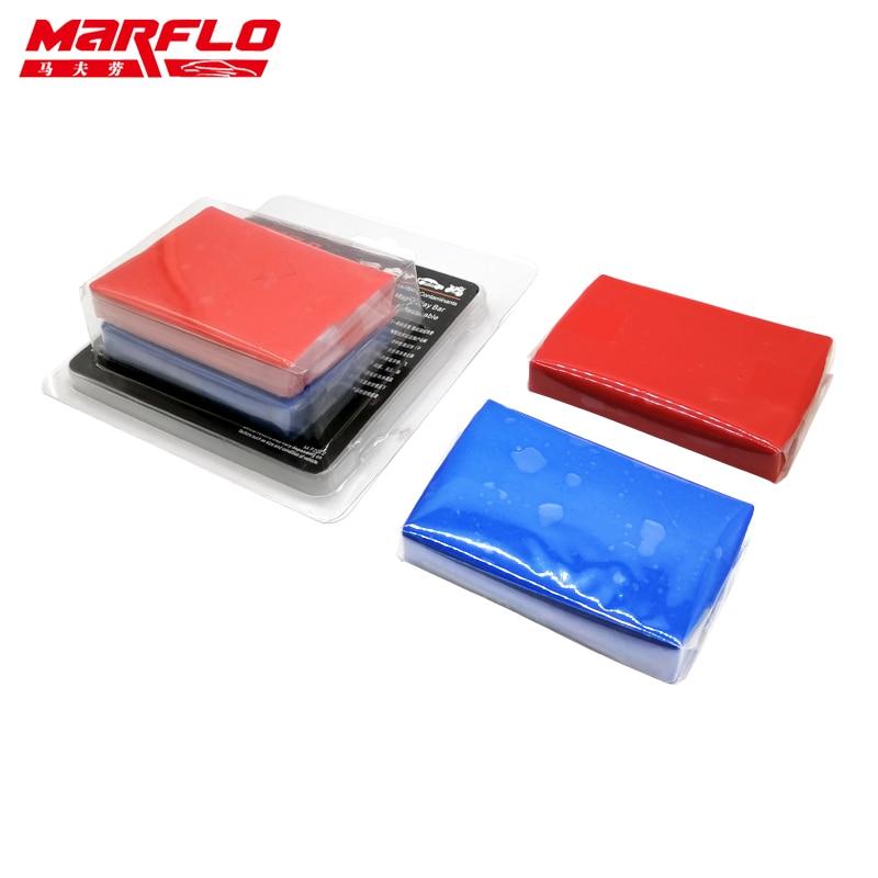 Marflo King Magic Clay Bar Car Wash Mud Auto Detail Bar Fine Grade