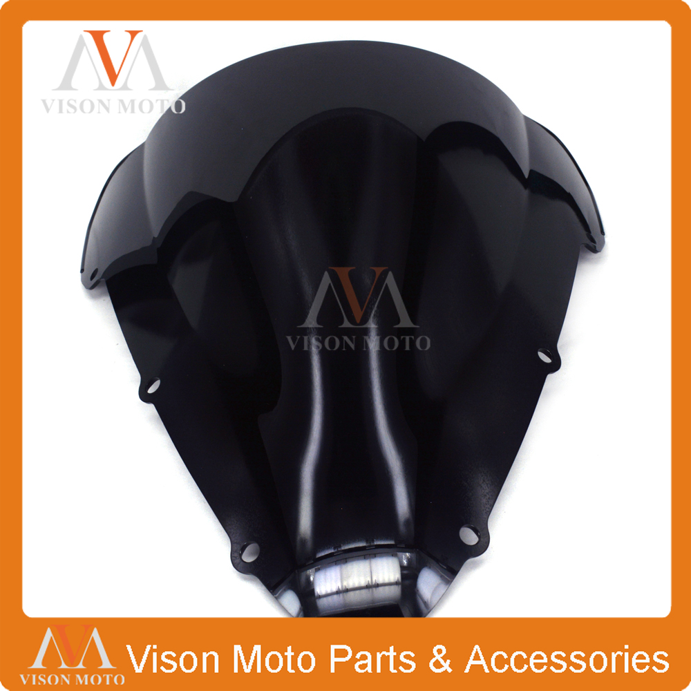 Motorcycle Winshield Windscreen For HONDA CBR600 CBR 600 F4I 2000 2001 2002 2003 2004 2005 2006 2007 00 01 02 03 04 05 06 07 arashi motorcycle parts radiator grille protective cover grill guard protector for 2003 2004 2005 2006 honda cbr600rr cbr 600 rr