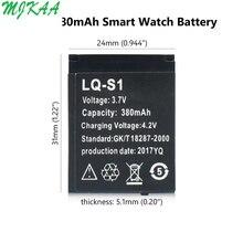 Durable Smart Watch Battery LQ-S1 3.7V 380mAh lithium Rechar