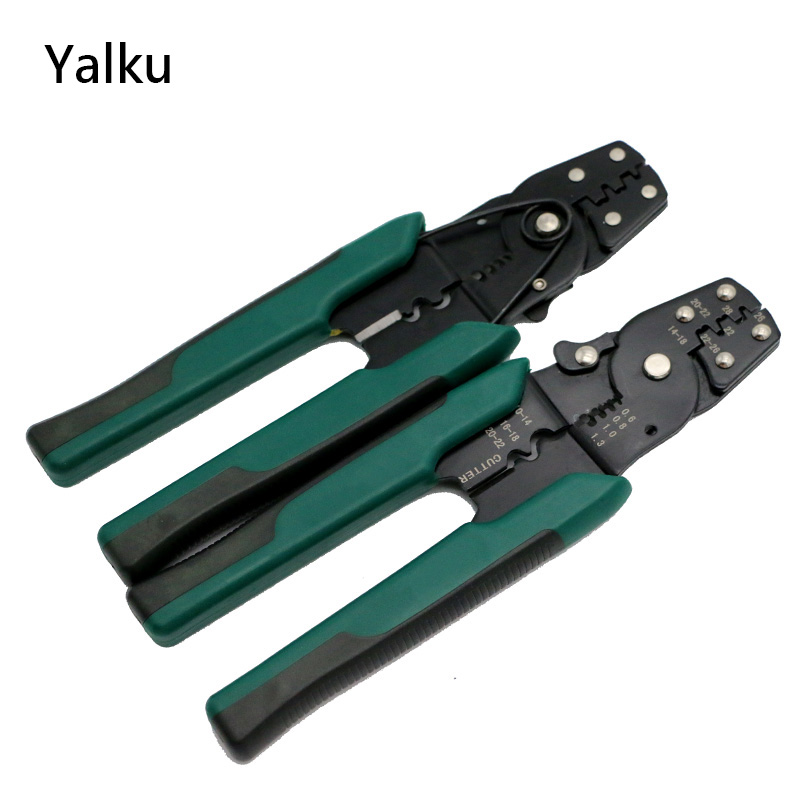 Yalku Wire Stripper Multi Tool Cable Crimping Pliers Ferramentas Hand Tools Cable Wire Stripper Cutter Crimper Pliers Tools 3 lot wire stripper crimper 50 steel tools knife dremel