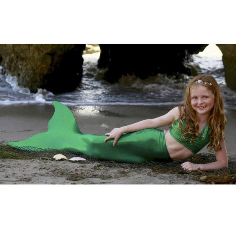 Then and now. Kids-Mermaid-Tails-Children-Dress-Mermaid-Kids-Costume-Fantasia-Princess-Bikini-Swimsuit-Swimming-Mermaid-Tail-Kids