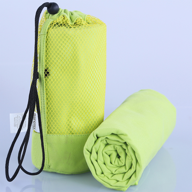 Microfiber Sports Towel With Bag