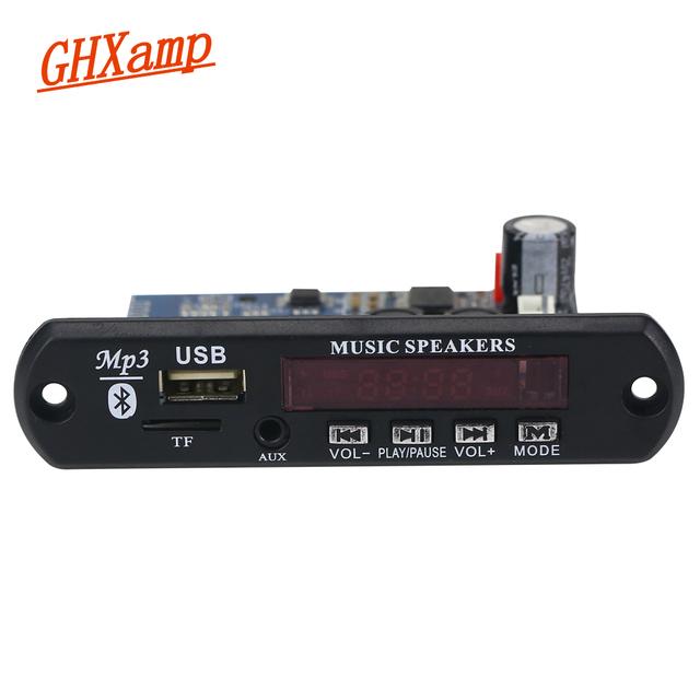 TDA7492P 25W+25W Bluetooth Amplifier Board + MP3 Decoder Board WAV APE Lossless Audio USB TF AUX DC12V-24V