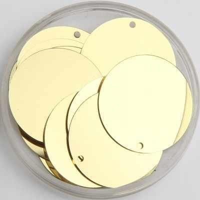 280 adet büyük yuvarlak pul 30mm PVC düz yuvarlak madeni pul oryantal dans kostümleri açık altın payetler