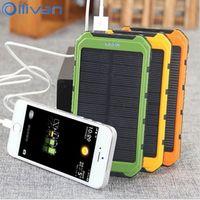 OLLIVAN Power Bank Ultra Slim 10000mAh Powerbank Mobile Phone 2 0A Output 10000mah External Battery For