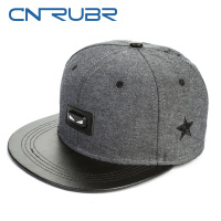 CN RUBR 1Piece Baseball Caps Men Women Outdoor Sports Leisure Adjustable Flat Brimmed Hats Men S