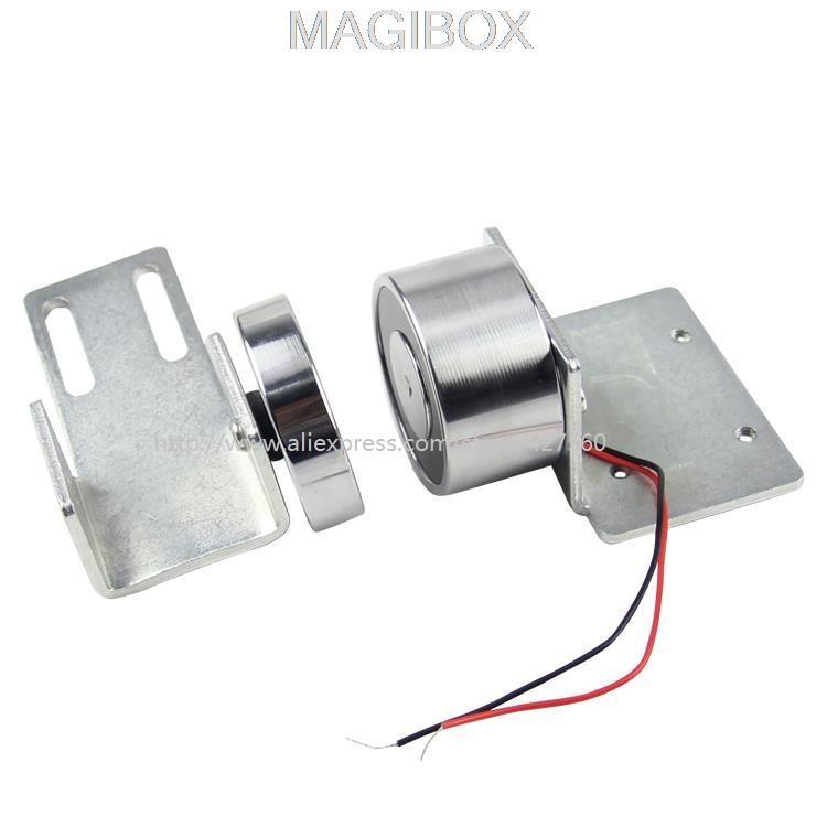 12V/24V universal automatic door magnetic lock rail lock for Sliding door Pan doors access