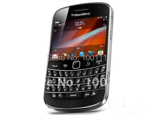 Цена за 100% Оригинал blackberry 9900 QWERTY + русская клавиатура/арабский клавиатура + сенсорный 2.8 дюймов, Wi Fi, GPS, 5.0MP камера, бесплатный shinpping